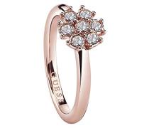 Guess Damen-Ring CALIFORNIA SUNLIGHT Kristall weiß Gr. 56 (17.8)-UBR28519-56