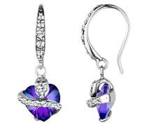 Damen Schmuck Ohrringe Ohrhänger Herz Liebe Freundschaft Liebesbeweis Silber 925 Swarovski Kristalle