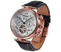 Ingersoll Damen-Armbanduhr Walldorf II Chronograph Automatik Leder IN1319RSL