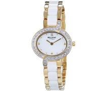 Regent Damen-Armbanduhr Analog Quarz verschiedene Materialien 12230610