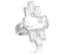 Damen-Ring Edelstahl Kristall Swarovski 336388