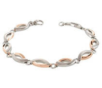 Damen-Armband Titan gebürstet 20 cm-03001-03