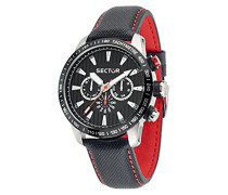 Herren-Armbanduhr 850 Chronograph Quarz Leder R3251575008