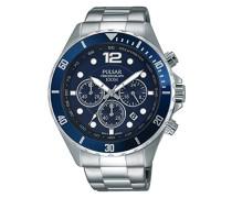 Herren-Armbanduhr Analog Quarz Edelstahl PT3719X1