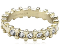 Damen-Ring Vergoldetes Metall Gafa III sg crystal