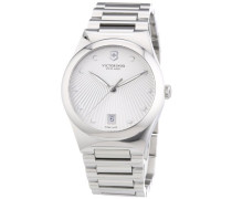 Victorinox Swiss Army Damen-Armbanduhr XS Victoria Analog Quarz Edelstahl 241630