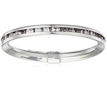 Damen-Ring 9 K 375 Weißgold rundschliff weiß Oxyde de Zirconium