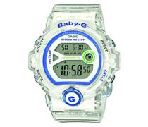Baby-G – Damen-Armbanduhr mit Digital-Display und Resin-Armband – BG-6903-7DER