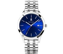 248C161–Elegance Classic–Zeigt Herren-Armbanduhr 10510262Analog Stahl Silber