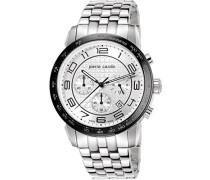 Herren-Armbanduhr Soleil Chronograph Quarz Edelstahl
