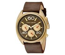 Unisex-Armbanduhr Analog Quarz Schokolade VC/1052RDGLP