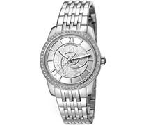 Pierre Cardin Damen-Armbanduhr Limoges Petit Analog Quarz Edelstahl PC106152F05