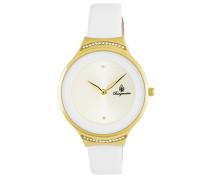 Armbanduhr für Damen mit Analog Anzeige, Quarz-Uhr und Lederarmband - Wasserdichte Damenuhr mit zeitlosem, schickem Design - klassische, elegante Uhr für Frauen - BM810-286 Santa Rosa