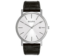 Bulova Herren-Armbanduhr Bulova Dress Analog Quarz 96B104