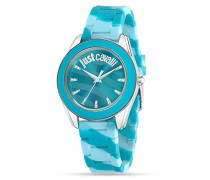 Just Cavalli Damen-Armbanduhr Analog Quarz Plastik R7251602502