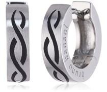 Bruno Banani Creolen 925/-Silber platiniert um 1 Stück 17/00063
