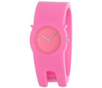 Unisex-Armbanduhr Analog Quartz Plastik Rosa AL24004
