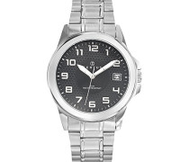 Herren-Armbanduhr Analog Quarz Silber 616223