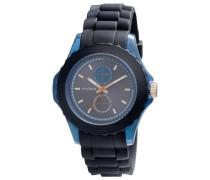 Damen-Armbanduhr XL Analog Quarz Kautschuk 701334202