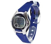 Collection – Damen-Armbanduhr mit Digital-Display und Resin-Armband – LW-200-2AVEF