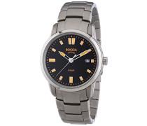 Boccia Herren-Armbanduhr XL Analog Quarz Titan 3573-02