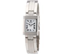 Damen-Armbanduhr Analog Quarz Edelstahl 12220883