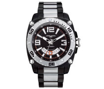 Herren-Armbanduhr Analog Quarz JG9800-23