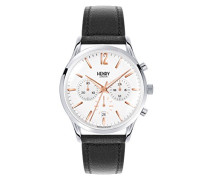 Unisex-Armbanduhr Highgate Chronograph Quarz Leder HL41-CS-0011