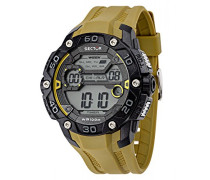 Sector Herren-Armbanduhr Street Fashion Analog Quarz verschiedene Materialien R3251481003