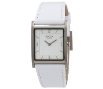 Boccia Damen-Armbanduhr Style Analog Quarz Leder 3210-01