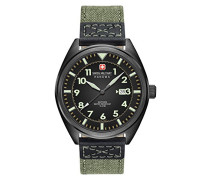 Swiss Military Herren-Armbanduhr Squadron Ii Analog Quarz SM34521AEU/H01