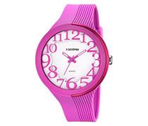 Damen-Armbanduhr Analog Plastik Rosa K5706/2
