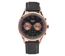Unisex-Armbanduhr Richmond Chronograph Quarz Leder HL41-CS-0042
