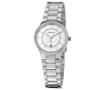 Damen-Armbanduhr XS Analog Quarz Edelstahl OR22270188