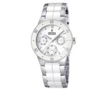 Damen-Armbanduhr XS Trend Ceramic Multifunktion Chronograph Keramik F16530/1