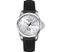 Certina Herren-Armbanduhr XL Analog Automatik Leder C014.407.16.031.00