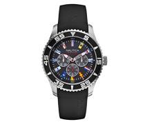 Nautica Herren-Armbanduhr XL Analog Quarz Resin A12626G