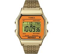 Unisex-Armbanduhr Digital Quarz Edelstahl TW2P65100