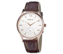 Orphelia Herren-Armbanduhr XL Analog Quarz Leder OR22670413