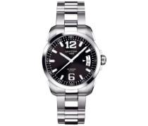 Certina Herren-Armbanduhr XL Analog Quarz Edelstahl C016.410.11.057.00