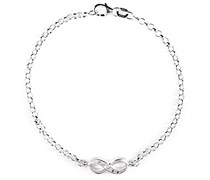 Heartbreaker Damen- Armband Infinity mit Zirkoniasteinchen LD IF 81