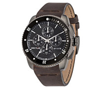 Herren - Armbanduhr 350 Chronograph Quarz Leder R3271903002