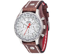 DETOMASO Herren-Armbanduhr Chronograph Quarz DT1073-B