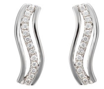 Damen-Ohrstecker 18 Karat 750 Gold 26 Diamanten 0.25 Carat 0.3 Carat OD-5286