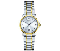 Certina Damen-Armbanduhr XS Analog Quarz Edelstahl C017.210.22.032.00
