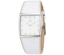 Obaku Damen-Armbanduhr Analog Quarz Leder V102LCCRW-S