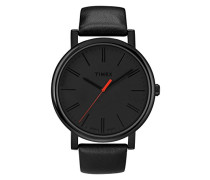 Unisex-Armbanduhr Analog Quarz Leder T2N794