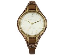 Damen-Armbanduhr Analog Quarz FO006TG
