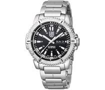 Herren-Armbanduhr MARINER 6500er Serie Analog Automatik Edelstahl 6502