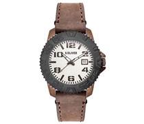 s.Oliver Herren-Armbanduhr XL Analog Quarz Leder SO-2934-LQ